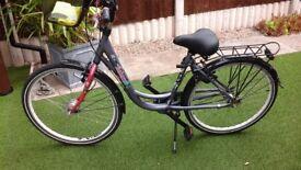 Retro vintage batavus ladies bike