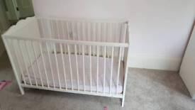 Child's wooden cot