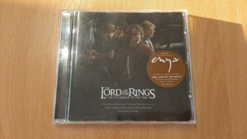 Lord of the Rings Fellowship Soundtrack CD