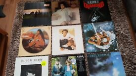Vinyl LP Records Mostly in VG Condition
