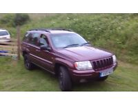 GRAND CHEROKEE LTD AUTOMATIC ESTATE MOT FOR 1 YEAR