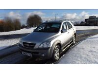 KIA SORENTO2.5 XS CRDI AUTO,Leather,Air Con,Cruise,Sunroof,A/T Tyres,Full Service History,Very Clean
