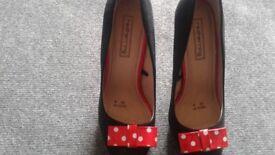 Lady's high heels