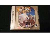 Nintendo DS RAYMAN raving Rabbits 2