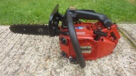 Solo professional powerful 36cc german made quality top handle chainsaw