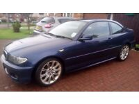 E46 BMW 3 Series Coupe. 04 plate, 1.8