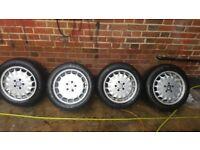 2 set Mercedes alloys wheel