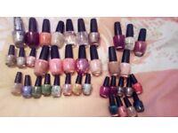 Opi nail varnish full size and mini size
