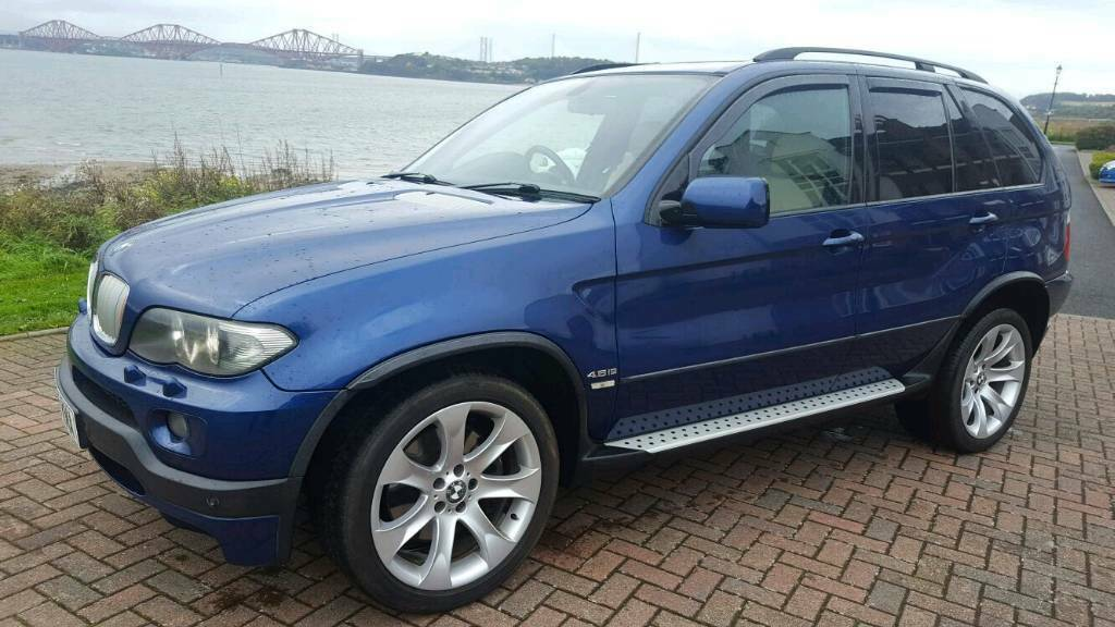 bmw x5 4x4 2006 blue auto in dalgety bay fife gumtree. Black Bedroom Furniture Sets. Home Design Ideas