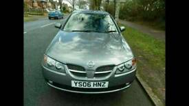NISSAN ALMERA ( top of the range with low mileage)