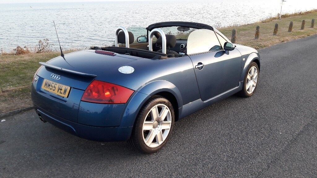 Low Mileage Audi TT Convertible In Hastings East Sussex - 2006 audi tt