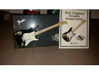 Eric Clapton mini display guitar