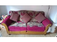 3 piece suite 3 seater 2 seater and chair
