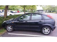 Ford Focus hatchback good runner, serviced regular MOT mid Jan 17, new exhaust & aux belt no radio.