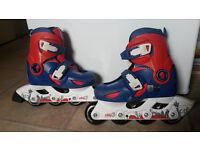 Boy roller skates for sale, size 28-30