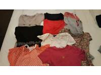Spring/ Summmer tops size 10