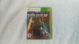 Mass Effect 3 Xbox 360 Kinect Compatible good condition Nottingham