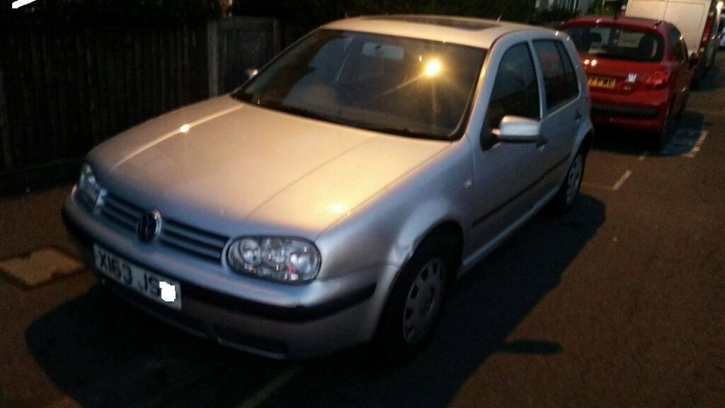 VW GOLF MK4 SPARE OR REPAIR NEED NEW CLUTCH CAR STILL DRIVE MOT 03/17