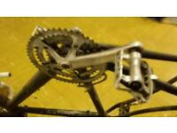 Cannondale frame with gear mechs
