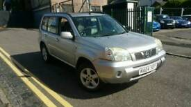 BARGAIN NISSAN X-TRAIL SUV 4x4 SVE 2.5 170BHP, LEATHER INTERIOR, LPG GAS, ALLOYS WITH GOOD TYRES
