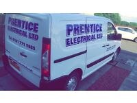 ELECTRICIAN WANTED - PRENTICE ELECTRICAL - Covering Glasgow-Edinburgh