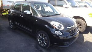 2014 Fiat 500L Lounge Leather Pano Sunroof Navigation Camera