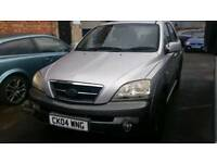 4x4 automatic diesel Kia Sorento 2004 with full leather ,12 months mot ,lots of room ,px welcome