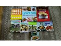 Selection of 9 cookery books