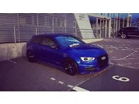 Audi S3 2.0 300bhp S-Tronic Sepang Blue - - not Golf R, Seat Cupra, BMW