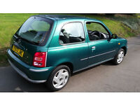 Nissan Micra 2001 1.0 l petrol in good condition with Service Book