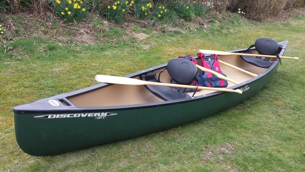 Old Town Kayaks For Sale >> Canoe - Old Town Discovery 158 Canadian Canoe | in Llanwrtyd Wells, Powys | Gumtree