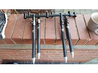 Berkley carbon goal post set up 3 rod super light super strong in very good condition
