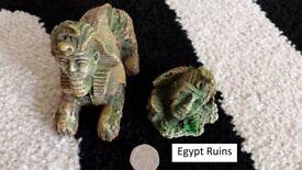 Aquarium Egypt ruins Ornaments