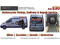 Kickstart motorcycles for all your biking needs -clothing -parts etc