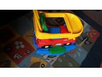 Baby car ridding, rocking