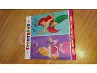 Childrens book. 2 in 1 sleeping beauty an my little mermaid book