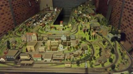 HO scale train Layout ,diorama Minto Campbelltown Area Preview