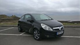Vauxhall Corsa . Ideal first car or something for the Upcoming Winter!