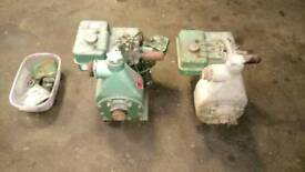 Briggs and stratton alcon water pumps