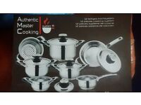 Authentic master cooking pan set