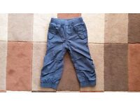 Boys GAP lined trousers 2-3y - as new