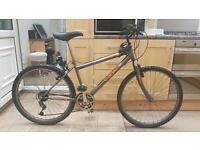 """British eagle mountain hybrid bike. 16"""" frame. 26"""" wheels. Fully working bike"""