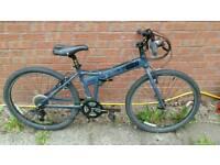 Dahon Folding Mountain Bike in Grey