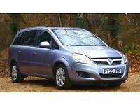 Vauxhall Zafira 1.9 CDTi Design 5dr AA REPORT | AUTOMATIC 2009 (59 reg) 91,057 miles 1910cc Diesel