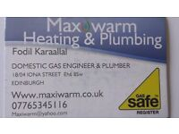 MaxiWarm Gas Safe Engineer and Plumber - All Edinburgh
