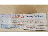 Unopened set of Sophie Kinsellar books