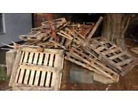 Free broken pallets firewood