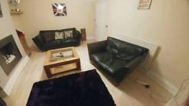 Sofa set and coffee table