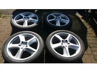 GENUINE PORSCHE 20 ALLOY WHEELS 5x130 CAYENNE PANAMERA VW TOUAREG TURBO GTS AUDI Q7