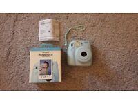 Fujifilm Instax Mini 8 Camera - Baby blue